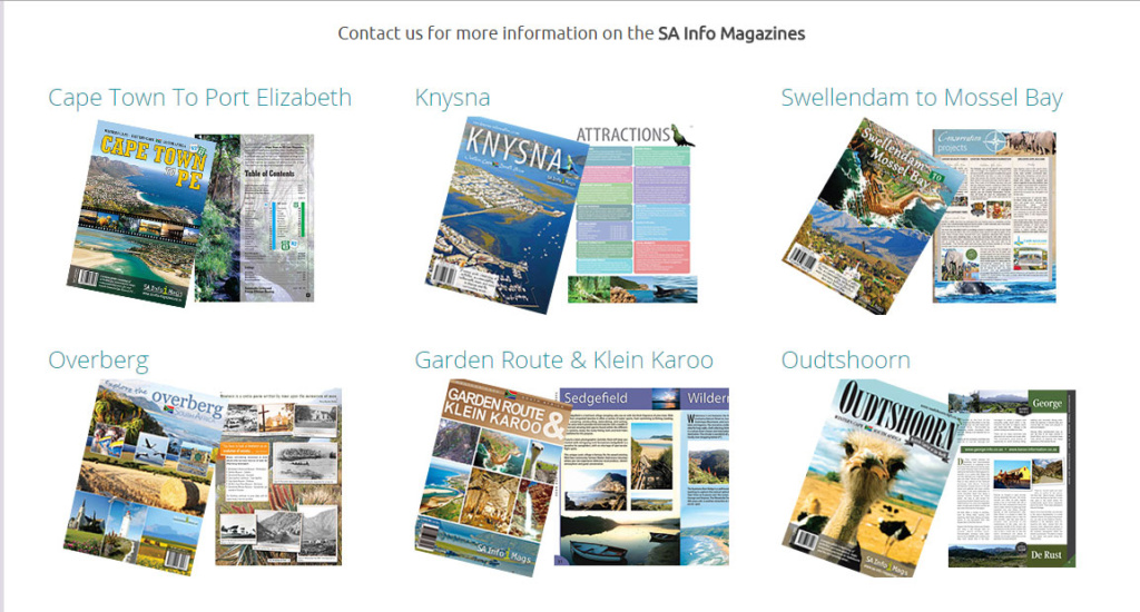 Integrated Marketing - SA Info Magazines