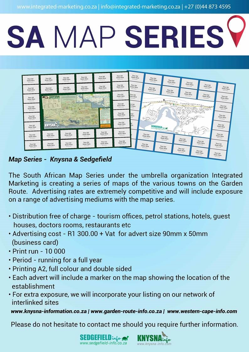 SA Map Series Integrated Marketing www.integrated-marketing.co.za